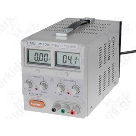 ΤΡΟΦΟΔΟΤΙΚΟ ΕΡΓΑΣΤΗΡΙΑΚΟ 0-30V,0-3A 2x LCD 3,5 dig