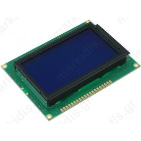 RG12864A-BIW-V Display: LCD; graphical; STN Negative; 128x64; blue; LED; PIN:2
