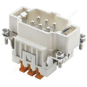 CONNECTOR   6 PIN CNEM06T 16A
