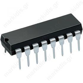 ADM202JNZ, Line transmitter-receiver; RS232; 5VDC; DIP16