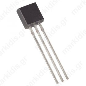 DS18B20 Temperature sensor; digital thermometer; -55X125°C; TO92; THT