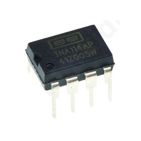 INA114AP Operational amplifier; 1MHz; 2.25-18VDC; Channels:1; DIP8
