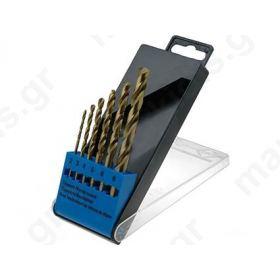 ΤΡΥΠΑΝΙΑ ΣΕΤ 6ΤΕΜ O:2 mm,3 mm,4 mm,5 mm,6 mm,8 mm