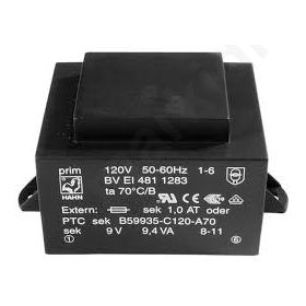 BVEI3022989 Transformer: encapsulated; 1.5VA; 230VAC; 24V; 62mA; Mounting: PCB
