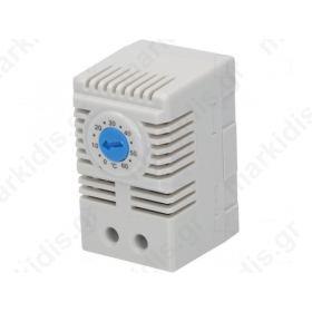 Αισθητήρας: θερμοστάτης 10A 250VAC IP20 Τοποθέτηση: DIN