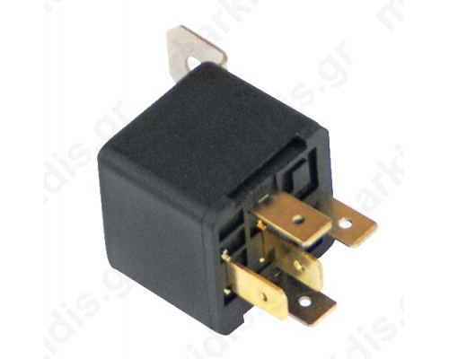 LDN-12F Relay: electromagnetic; SPDT; Ucoil:12VDC; 40A; DC load:30A/12VDC