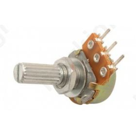 Potentiometer shaft single turn 220k Ω 63mW ±20% THT 6mm