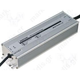 ΤΡΟΦΟΔΟΤΙΚΟ ΓΙΑ LED 15VDC 200W 13A IP67