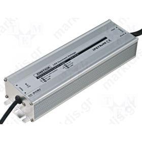 ΤΡΟΦΟΔΟΤΙΚΟ ΓΙΑ LED 150W 12VDC 12.5A IP67