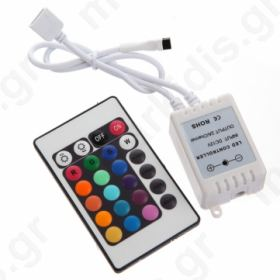 Controller for LED strips IR 24 programs 72 W