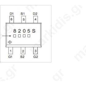 I.C STT8205S SMD SOIC3