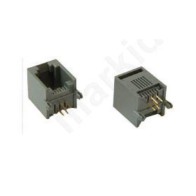 CONNECTOR PCB TEL.6P4C