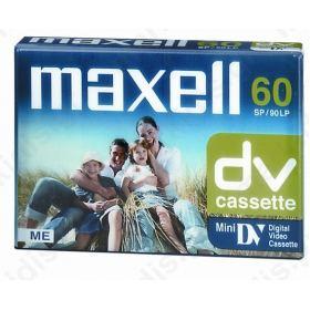 ΚΑΣΕΤΑ ΚΑΜΕΡΑΣ MINIDV MAXELL DVM-60