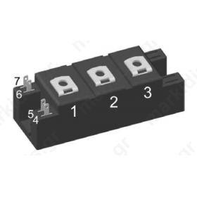 MII100-12A3,Discrete Semiconductor Modules IGBT MODULE 1200V, 100A
