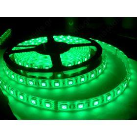 ΕΥΚΑΜΠΤΗ ΤΑΙΝΙΑ LED ΠΡΑΣΙΝΗ 300 LED SMD 3528 12V 24W IP63/ ΤΙΜΗ ΜΕΤΡΟΥ