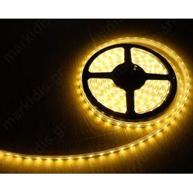 ΕΥΚΑΜΠΤΗ ΤΑΙΝΙΑ LED ΚΙΤΡΙΝΗ  300 LED SMD 3528 12V/24W IP20/ ΤΙΜΗ ΜΕΤΡΟΥ