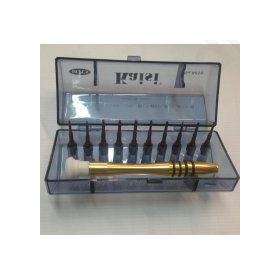 Φωτιστικό HG-6030 Μαύρο 3LED Στρογγυλό