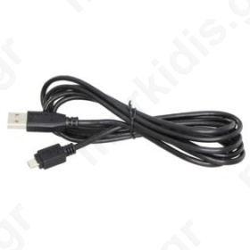 ΚΑΛΩΔΙΑ USB ΑΡΣ ΣΕ USB MICRO 5P ΑΡΣ. 1,8M BLISTER