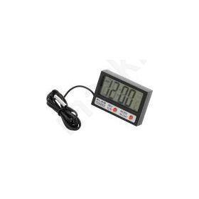 Θερμόμετρο Εσωτερικής - Εξωτερικής Θερμοκρασίας + Ρολόι