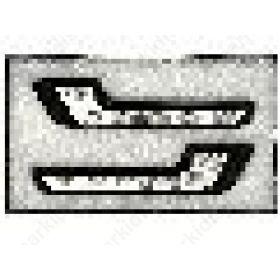 ΣΕΤ ΠΡΟΒΟΛΑΚΙΑ ΑΥΤΟΚΙΝΗΤΟΥ ΗΜΕΡΑΣ ΓΩΝΙΑΚΟ DRL-F/L 010