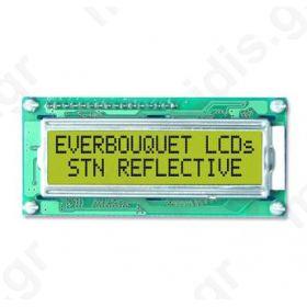 ΟΘΟΝΗ LCD MC1604B-SYR ALPHANUMERIC, 4X16, STN