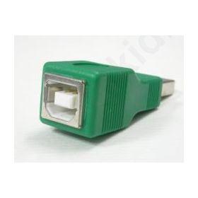 ADAPTOR USB Α MALE-Β FEMALE