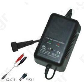 MW126CPA Φορτιστής μολύβδου 6V/12V 1500MA