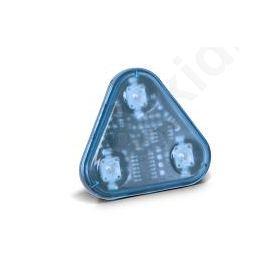 FLASH ΔΕΛΤΑ 3 LED 12/24V BLUE