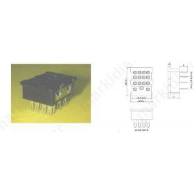 ΒΑΣΗ RELAY PCB 4Ρ LY/4-ΡΥ14