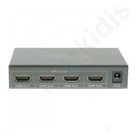 Splitter HDMI 4 θυρών, με λειτουργία EDID και υποστήριξη 4K2K και 3D.