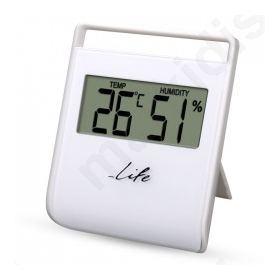 Ψηφιακό εσωτερικό θερμόμετρο με υγρόμετρο.