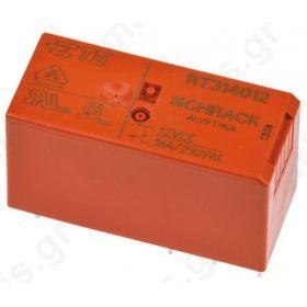 Ρελέ Ηλεκτρομαγνητικό 12V dc Coil 16 A