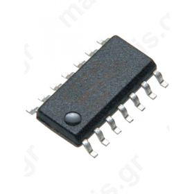 SN74LS74AD, Dual, D Type Flip Flop, 4.75 > 5.25 V, 14-Pin SOIC