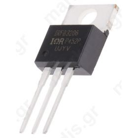 IRFB3206PBF N-channel MOSFET, 210A, 60V 3-Pin TO-220