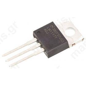 Σταθεροποιητής Τάσης LM1117T 1.5A Adjustable, 1.25 -3.8