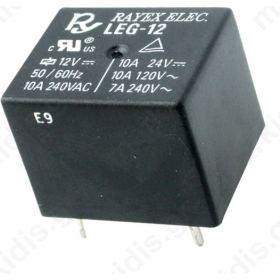 Ρελέ Ηλεκτρπμαγνητικό 24VDC 10A/120VAC