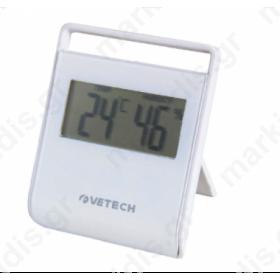 Θερμόμετρο υγρασιόμετρο Velamp Therm04 Velamp