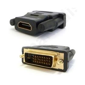 Adaptor HDMI/F-DVI24+1(5)/M, DeTech, Μαύρο