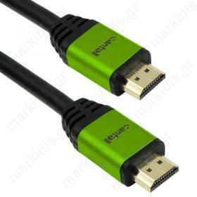 Καλώδιο HDMI Μ/Μ ΟΕΜ, 5m 3D Full HD Hight Speed