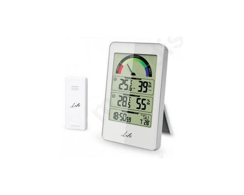 Μετεωρολογικός Σταθμός με Ασύρματη Εξωτερική Μονάδα Μέτρησης Θερμοκρασίας-Υγρασίας
