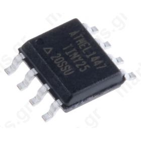 ATTINY25-20SSU, 8bit AVR Microcontroller, 20MHz, 128 B, 2 kB Flash, 8-Pin SOIC