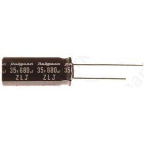 Πυκνωτής Ηλεκτρολυτικός 150΅F 25V dc 6.3mm