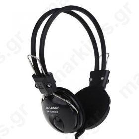 Ακουστικά OV-L808MV για Υπολογιστή με Μικρόφωνο