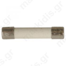 Ασφάλεια Κεραμική  1Α 6.3x32mm 250V