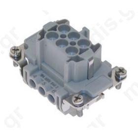 CONNECTOR  ΘΥΛΗΚΟΣ  CNEF 06 T 44.27 16A