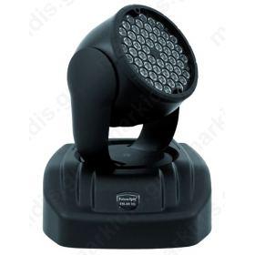 ΚΙΝΗΤΗ ΚΕΦΑΛΗ LED FULL COLOR RGB 54X3W
