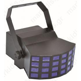 ΦΩΤΙΣΤΙΚΟ LED ΕΦΕ 24 ΑΚΤΙΝΩΝ RGBAW 5X3W