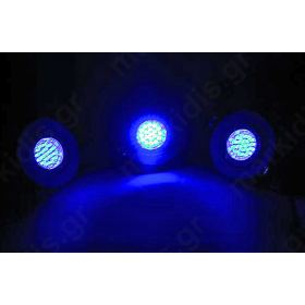 WHITE LED BLUE