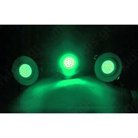 WHITE LED GREEN