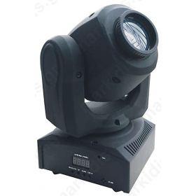 ΚΙΝΗΤΗ ΚΕΦΑΛΗ LED SPOT  RGBW 10W, 12DEG
